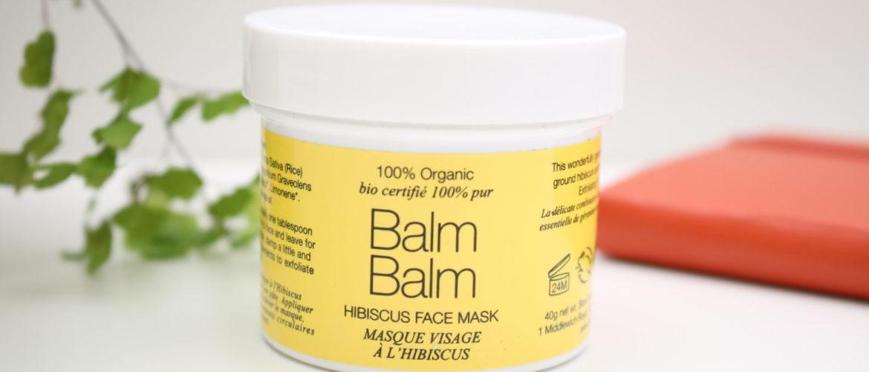 Le masque à l'hibiscus BALM BALM : mon chouchou du moment