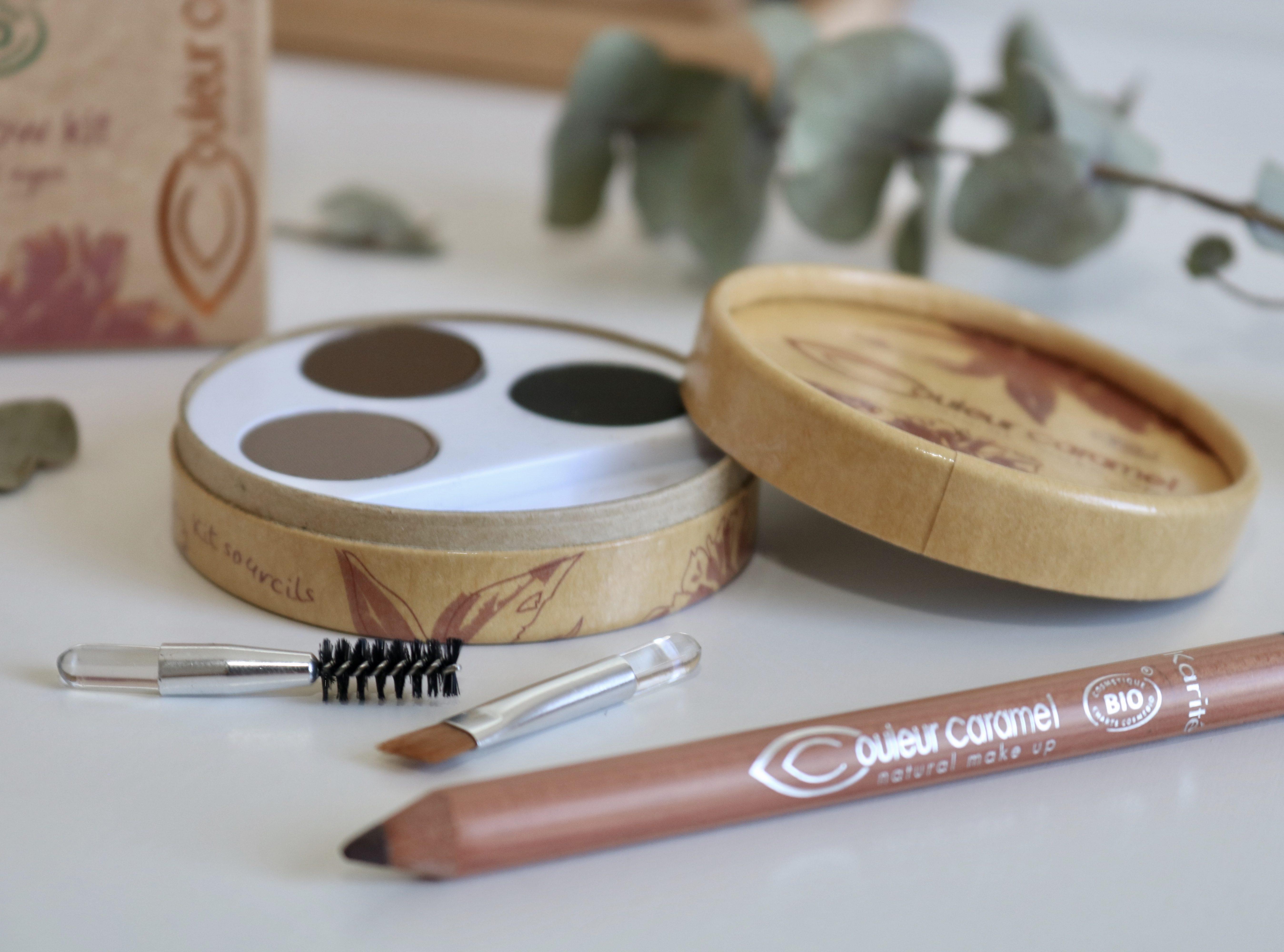 Comment bien se maquiller les sourcils avec COULEUR CARAMEL ?