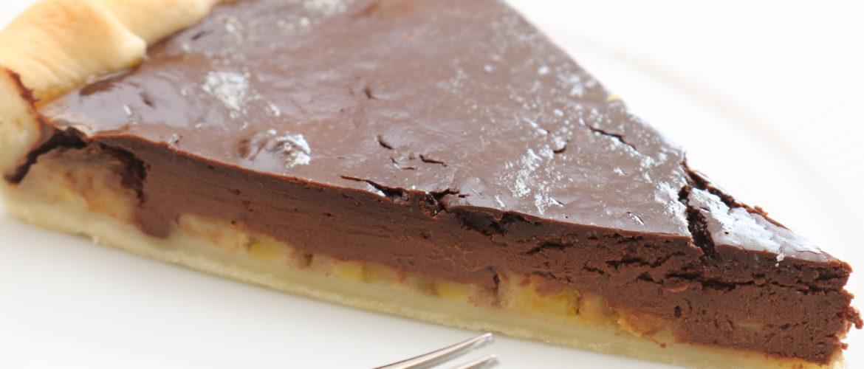 Recette facile de Tarte BANANE-CHOCOLAT