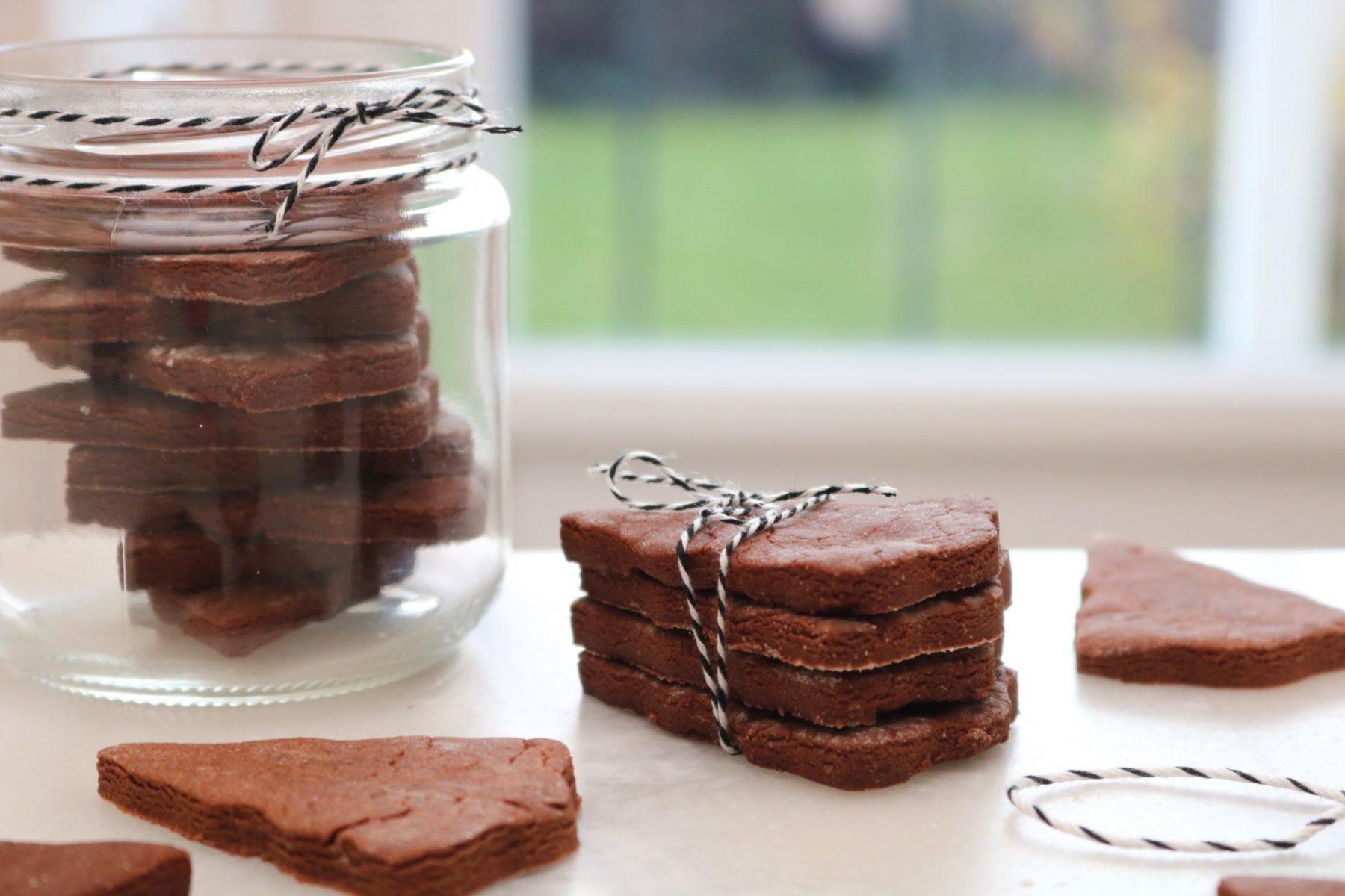 Sablés de Noël au Chocolat – Recette facile