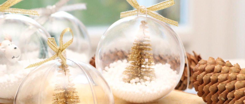 Faire soi-même ses boules de Noël : C'est facile !!