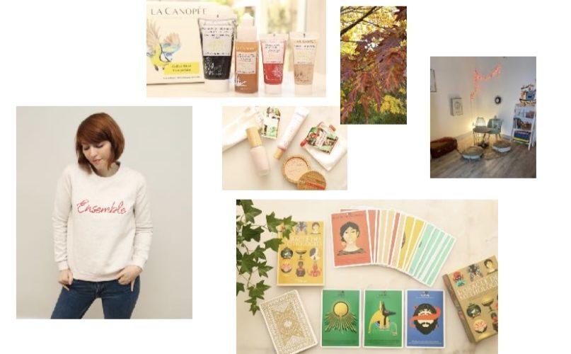 Mes Découvertes & Favoris de l'Automne : Mode Éthique, Sophrologie, Green Beauty, Oracles