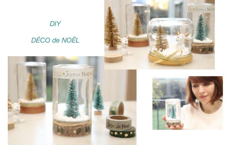 DIY Déco de Noël (à partir de pots en verre vides)