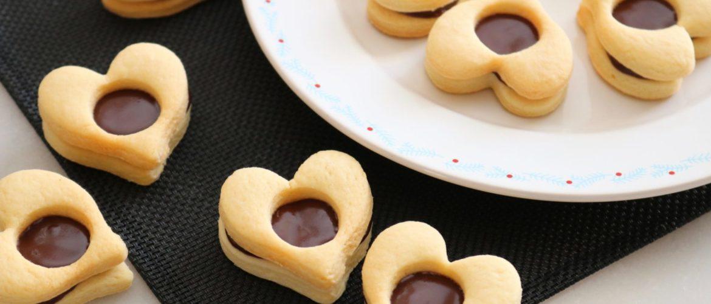 Recette de Sablés fourrés au chocolat