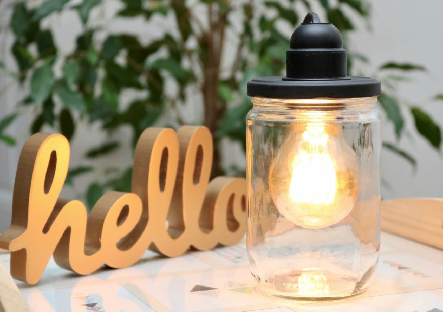 DIY : Comment fabriquer une Lampe Bocal ?