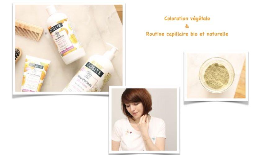 Cheveux : Coloration végétale & Routine capillaire naturelle