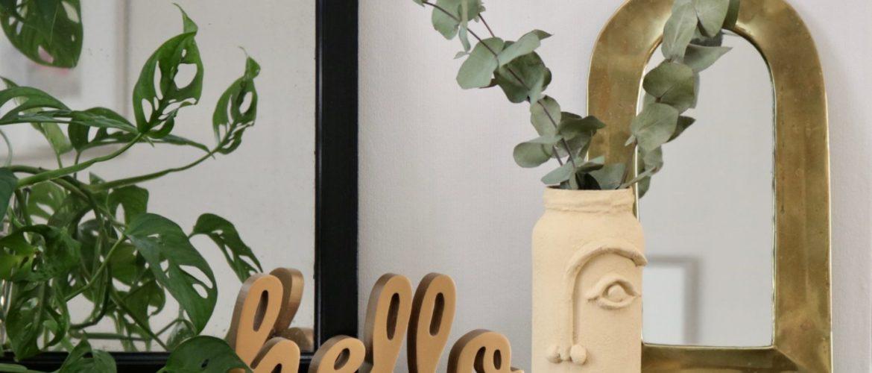 DIY Vase Line Art