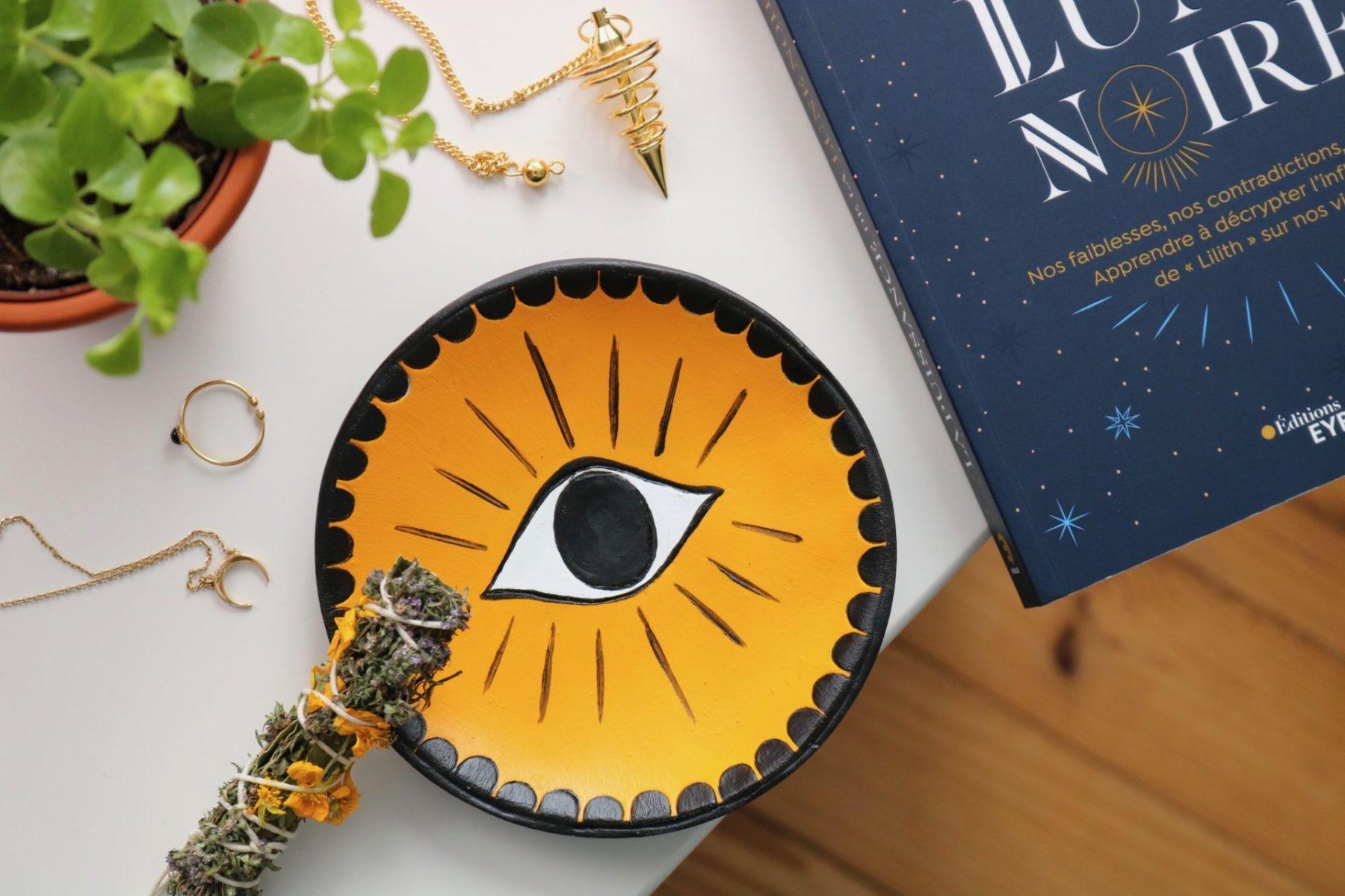 DIY Coupelle en argile Oeil