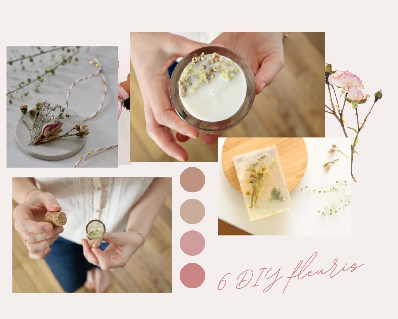 6 DIY faciles avec des fleurs séchées