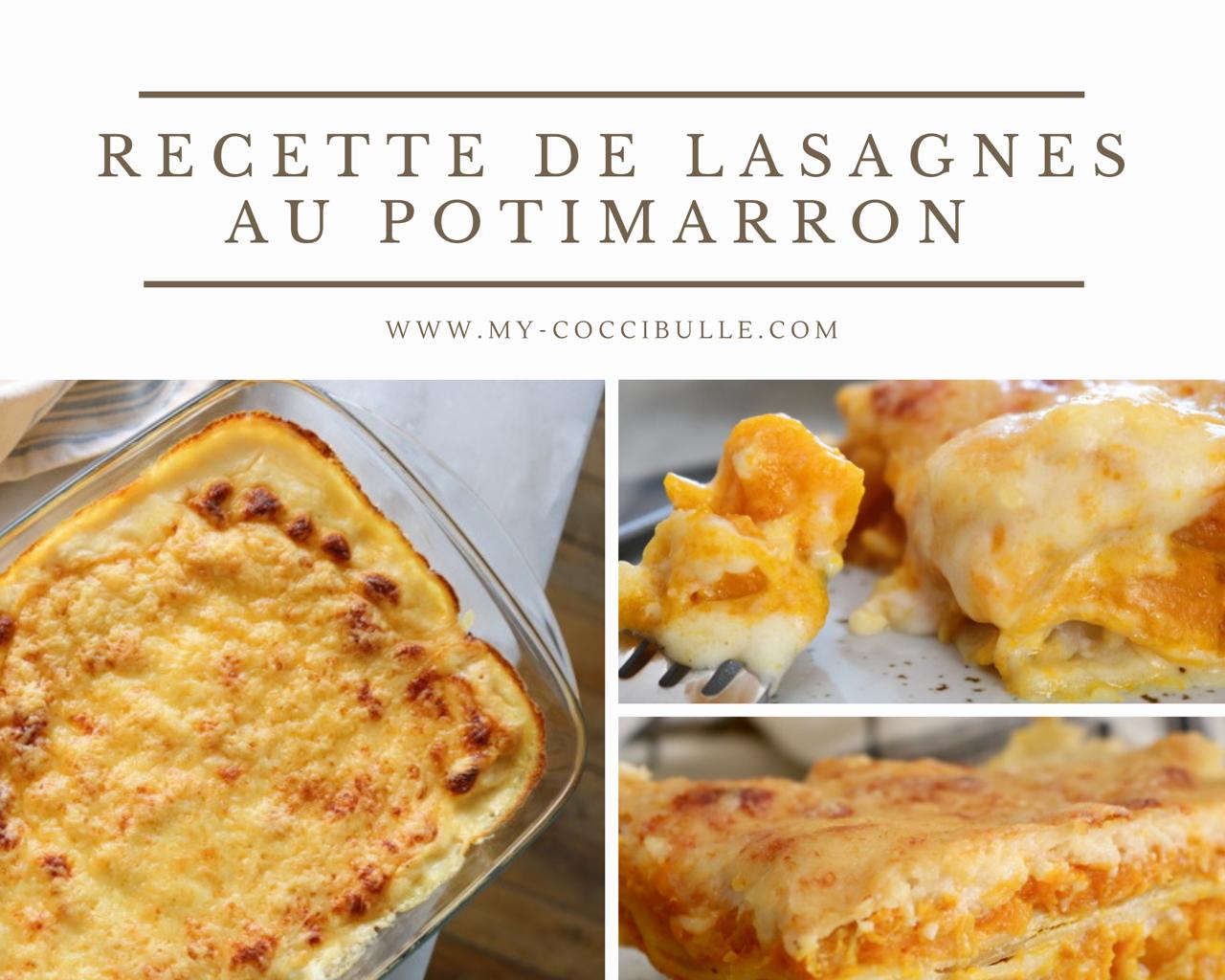 Lasagnes au Potimarron – Recette facile